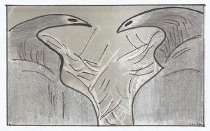 quelíceras - desenho