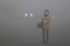 Poluição Harbin - China 1